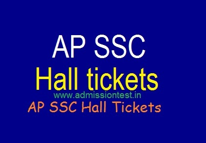 AP SSC Hall Tickets 2019| Download AP 10th Class Public Exam Hall Tickets@ bse.ap.gov.in