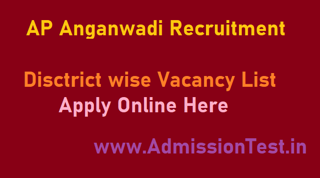 AP Anganwadi 2020 Recruitment WDCW District Wise List, Apply Online, AP Govt has released Anganwadi 2020 Notification for 6000 vacancies.